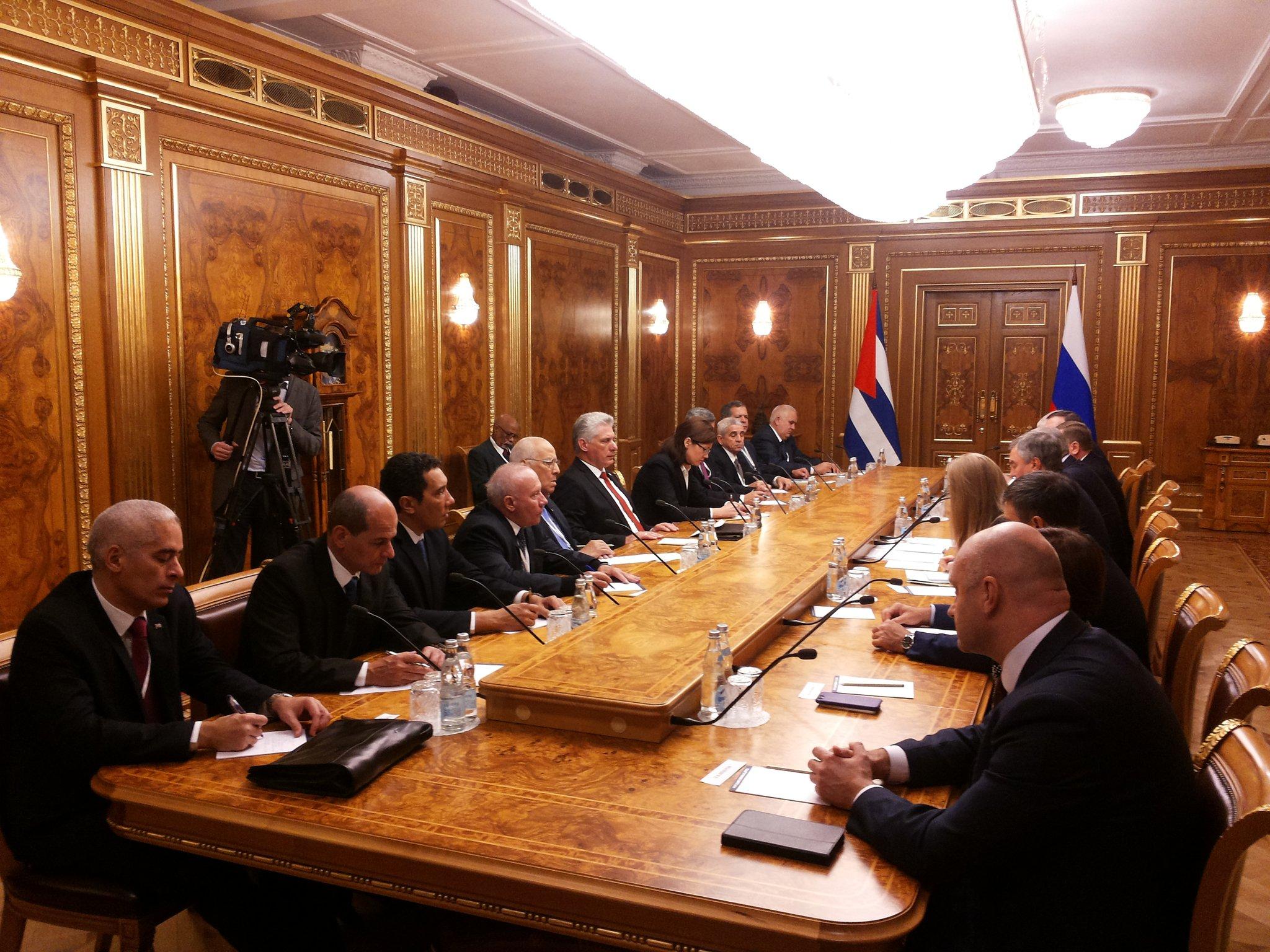 В Москву прилетел кубинский лидер