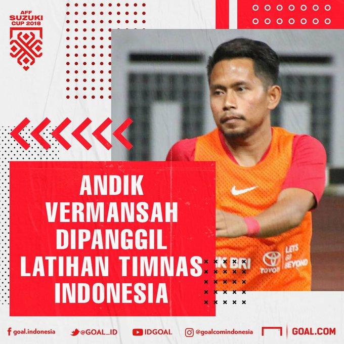Andik mendapat panggilan mengikuti latihan timnas Indonesia. Sementara itu Saddil belum dicoret sepenuhnya karena masih ditunggu di Cikarang. Soal pemain, Bima Sakti memiliki kewenangan penuh untuk memilih dengan berbagai pertimbangan yang kuat, pernyataan tertulis PSSI. Photo