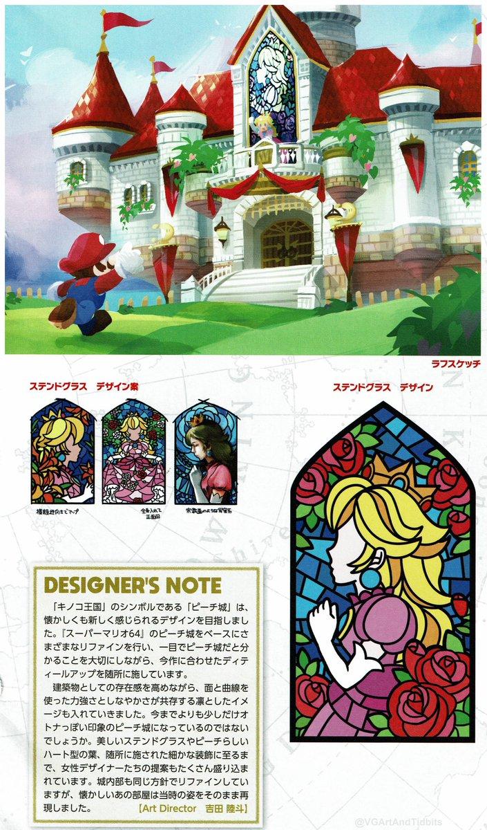 Videogameart Tidbits On Twitter Super Mario Odyssey Peach S