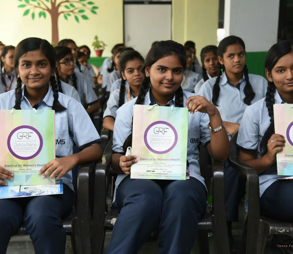 #AdolescentHealthProgram organised by GRF With a support of #madhukarrainbowhospital #janabank and #cms