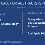 Image for the Tweet beginning: SUBMIT AN ABSTRACT for the