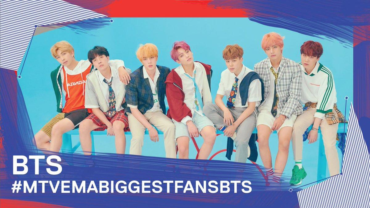 Think @BTS_twt should win the #BiggestFans category for the #MTVEMA? RT this & tweet #MTVEMABiggestFansBTS!