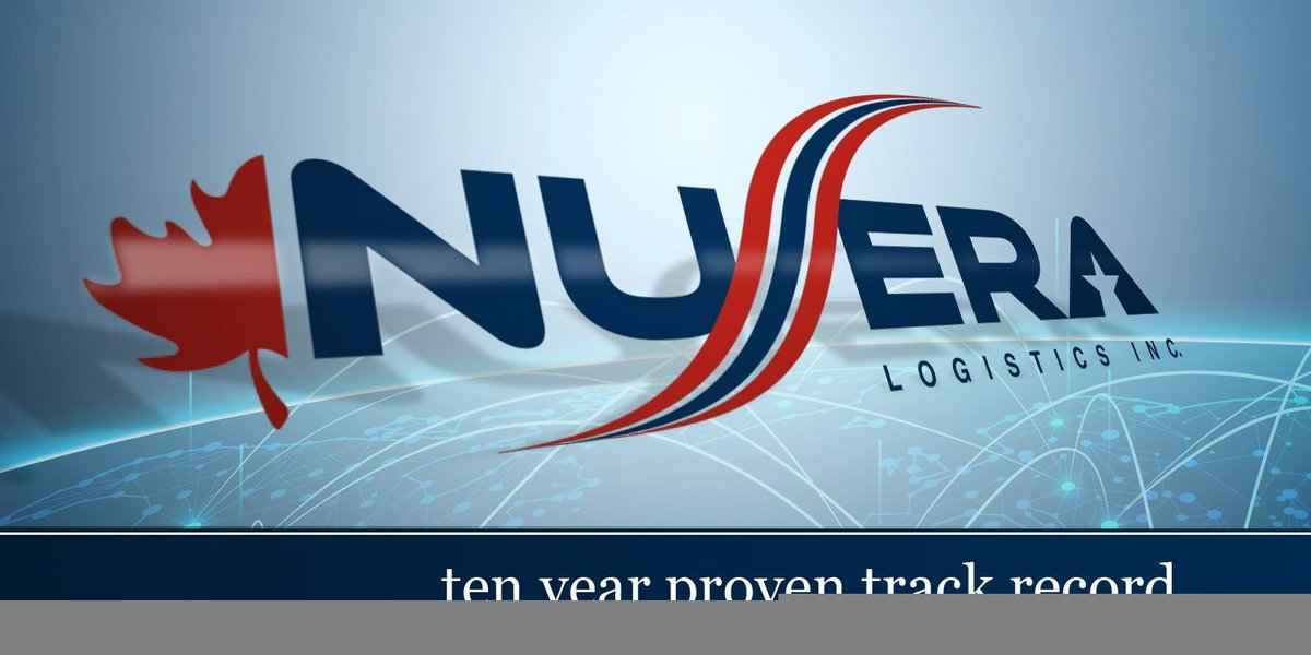 Nu-Era Logistics Inc on Twitter: