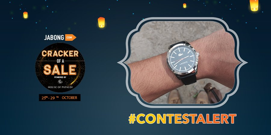 20bcabd8fd3 Get your hands full with this #Lacoste watch from #Jabong. Head to our  Facebook handle to add to your collection! Participate here:  https://goo.gl/8LYaFW ...