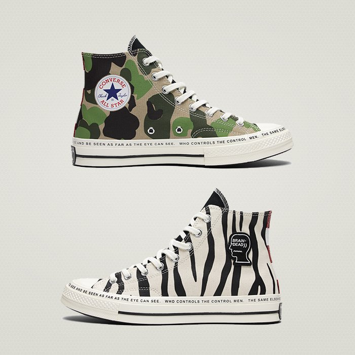 a46a4700bfa144 Brain Dead x Converse Chuck  70 launching today at  offspringhq  selfridges  London only. These are in our opinion a MUST and a NEED (know you all miss  that ...