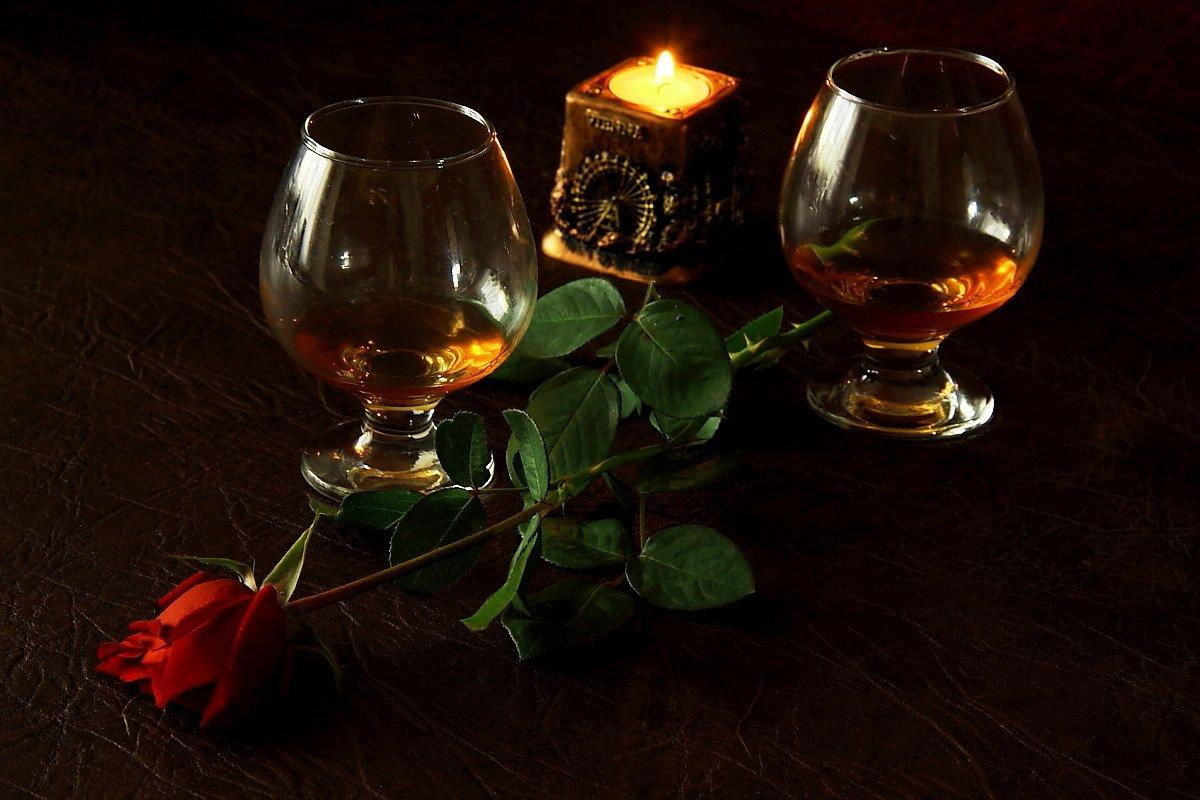 Анимация романтический вечер