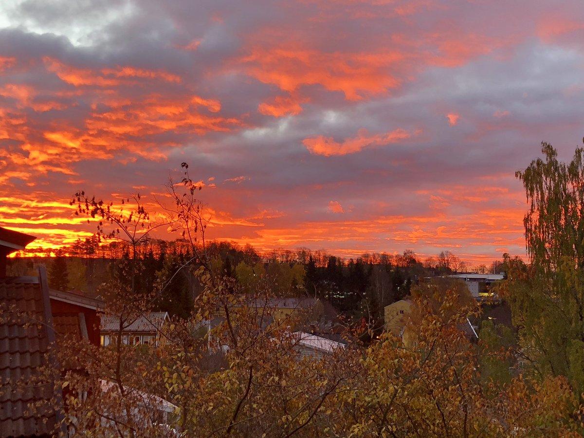 Sunrise Time In Oslo