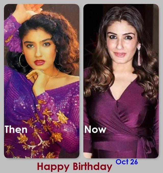 Happy birthday Raveena Tandon....