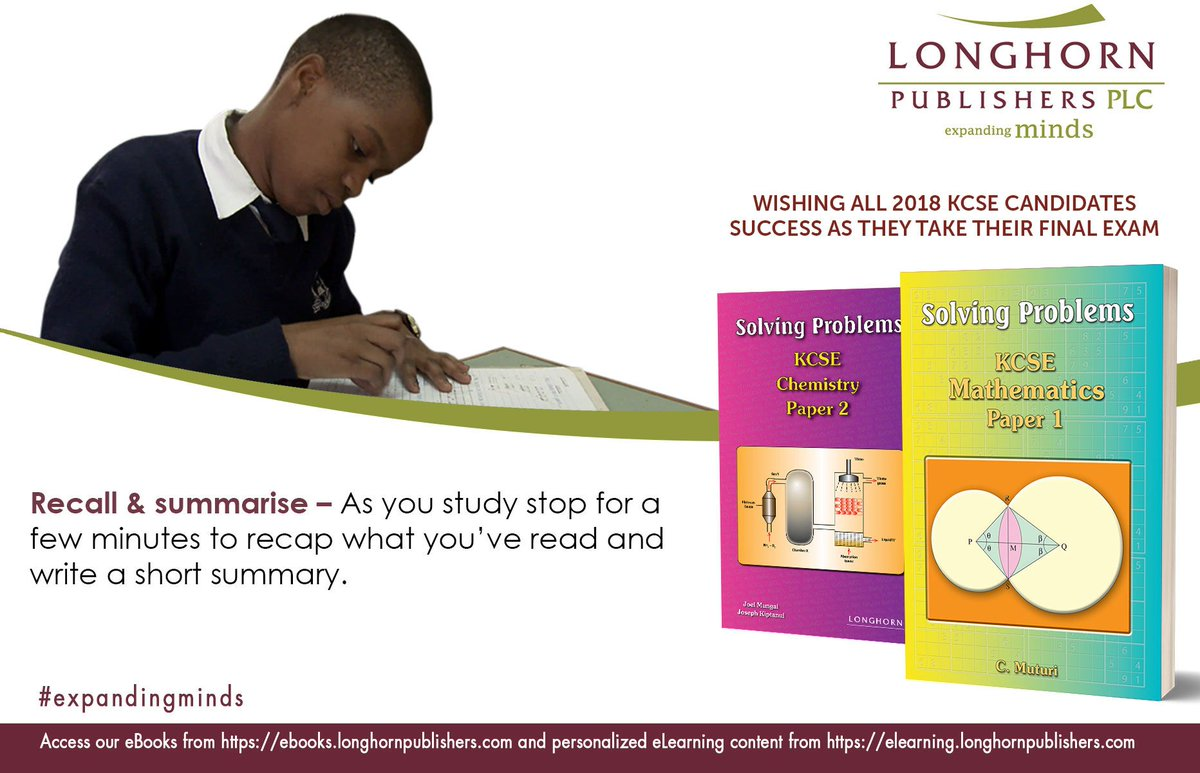 Have a copy of the Longhorn Solving Problems revision books to guide you.  #expandingmindspic.twitter.com/MznyqzpsBH