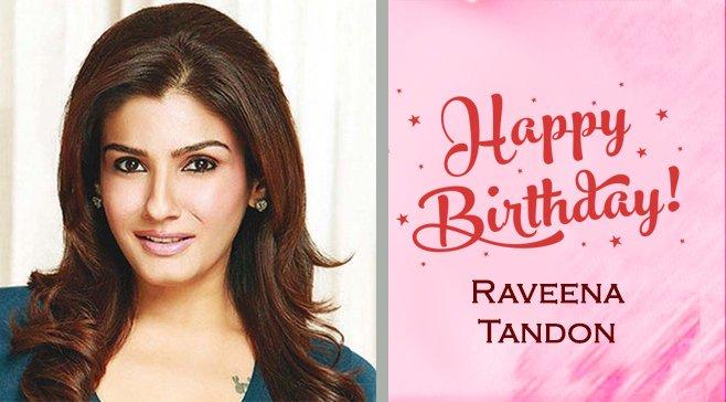 Happy Birthday.. Raveena Tandon
