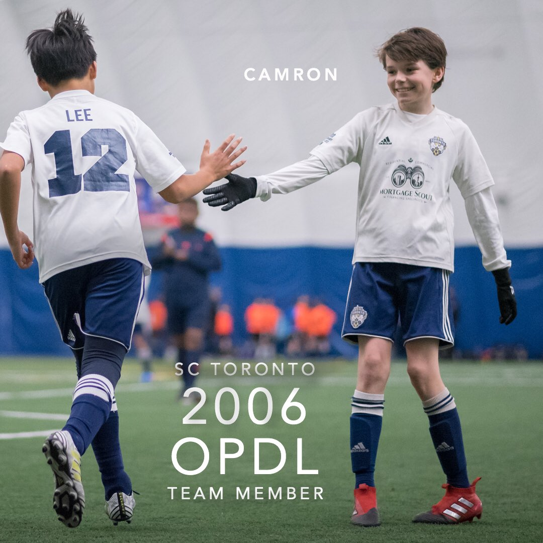 Congratulations Camron for earning a spot on the 2006 SC Toronto OPDL Team #SupportLocalFootball #Toronto #2006Boys  #SCToronto #TorontoSoccer #SoccerInTheSix #OPDL #OntarioSoccer #PlayInspireUnite #Football #Soccer #Canada2026 #TheBeautifulGame  Tryouts ongoing. DM for details.