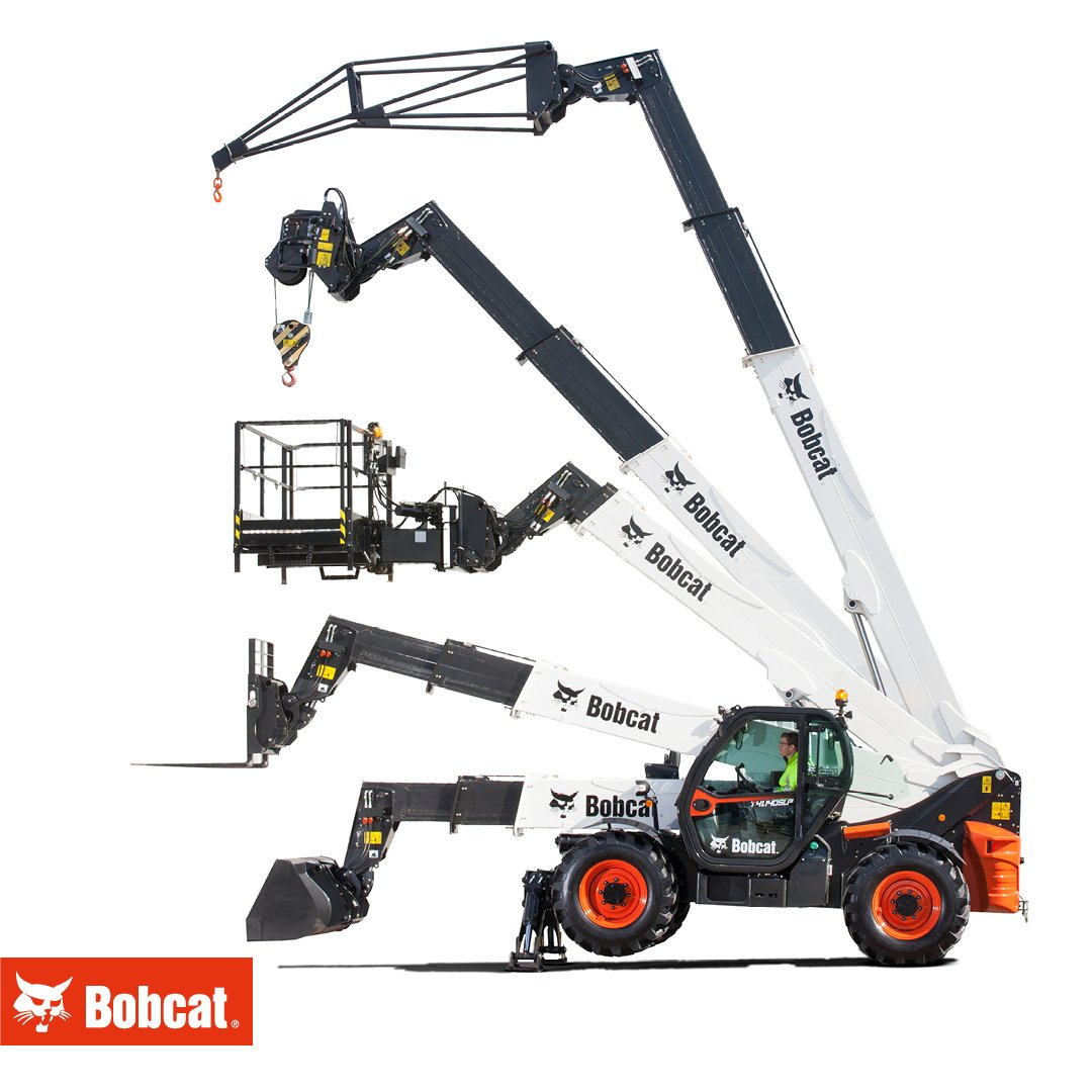 The Swiss Army knives of machines Bobcat #TelescopicHandlers