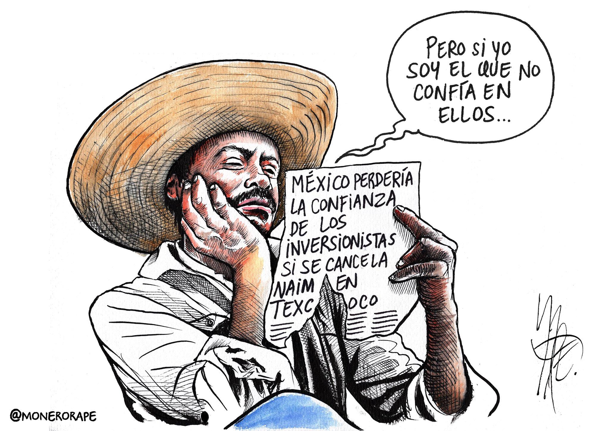 La burra no era arisca. Cartón sobre el #NAICM #NAIM #ConsultaNacionalNAIM en @Milenio https://t.co/O7ccp7cp5J