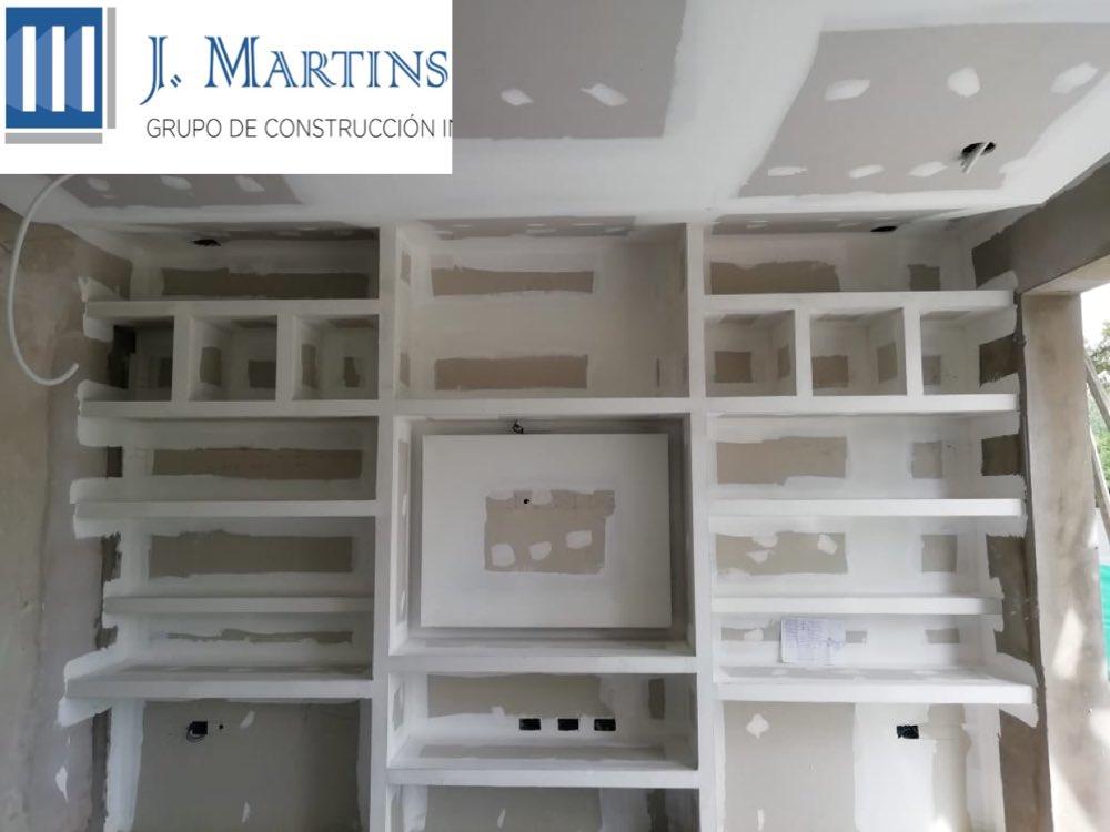 Mueble de placa de yeso. Country Terralagos, Canning. ABM Arquitectura #mueble #jmartins #construccion #construccionenseco #durlock #canningpic.twitter.com/fRt5kTEPr0