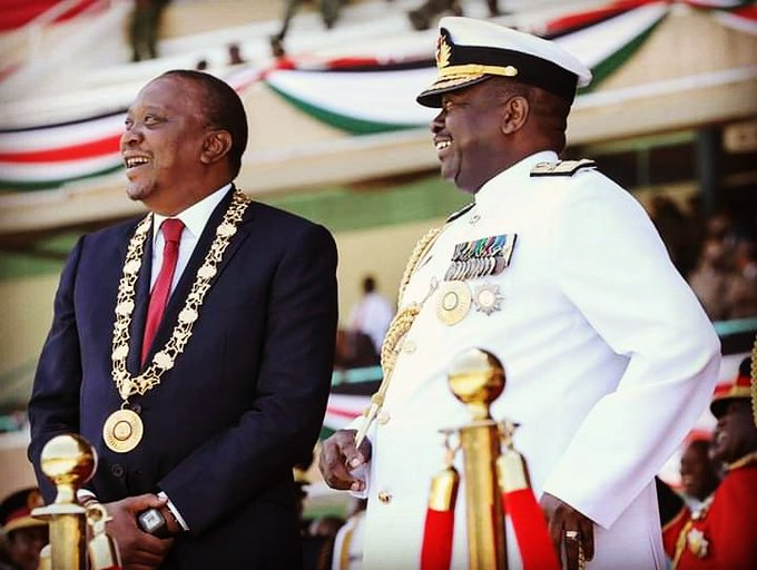Happy birthday President Uhuru Kenyatta. Focus on the ONE Big Agenda - fight against corruption.