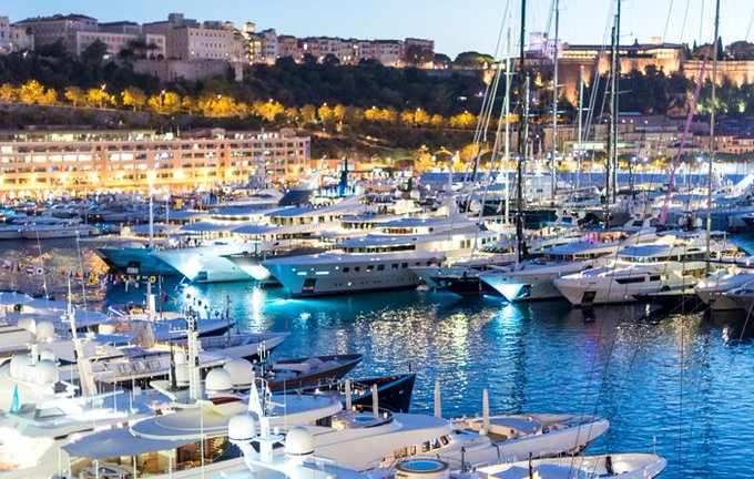 Monaco Yacht Show Home