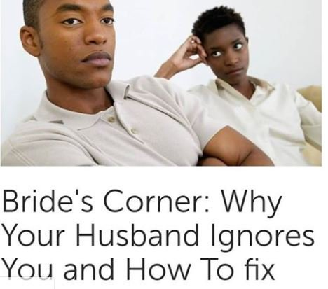 Husband ignores your you when FAQ: When