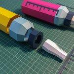 Image for the Tweet beginning: Echt waar: de paper art