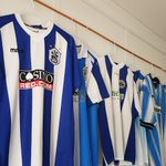 """""""Old shirts! Just waiting to meet up with Huddersfield Town football management team to develop up new training ground layouts"""" @htafcCanalside #football"""