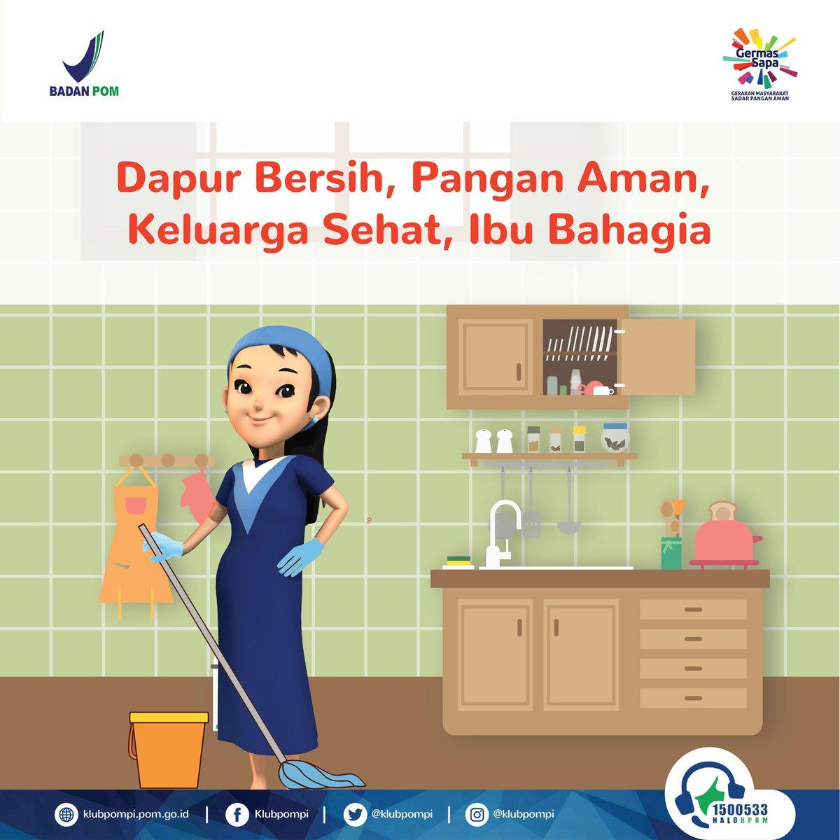 Oleh Karena Itu Menjaga Kebersihan Dapur Sangatlah Penting Indonesiajuara Panganaman Foodsafety Kebersihandapur Kesehatan Kulinerpic Twitter