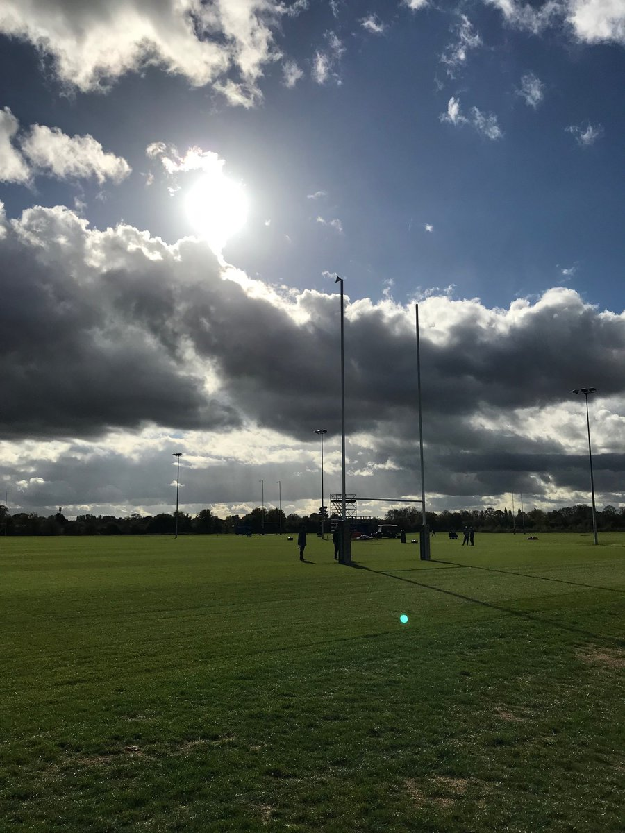 Eagles practicing at London Irish Rugby facility for game vs. Jaguars