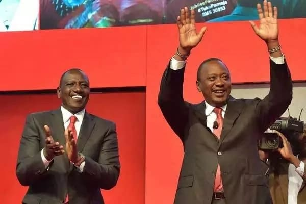 William Ruto leads Kenyans in wishing his boss, Uhuru Kenyatta, a happy 57th birthday