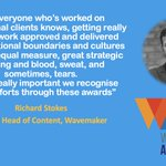 Image for the Tweet beginning: Thrilled that @richardscontent, Global Head