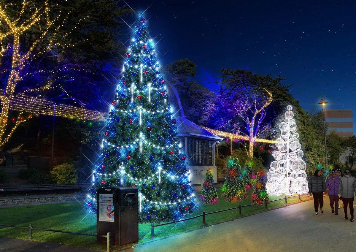 Christmas Tree Wonderland Bournemouth Coastal Bid.Sara Uzzell Sara Uzzell Twitter