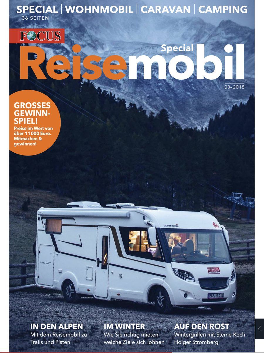 "Joachim Petersen on Twitter: ""FOCUS Magazin #Reisemobil #Wohnmobil"