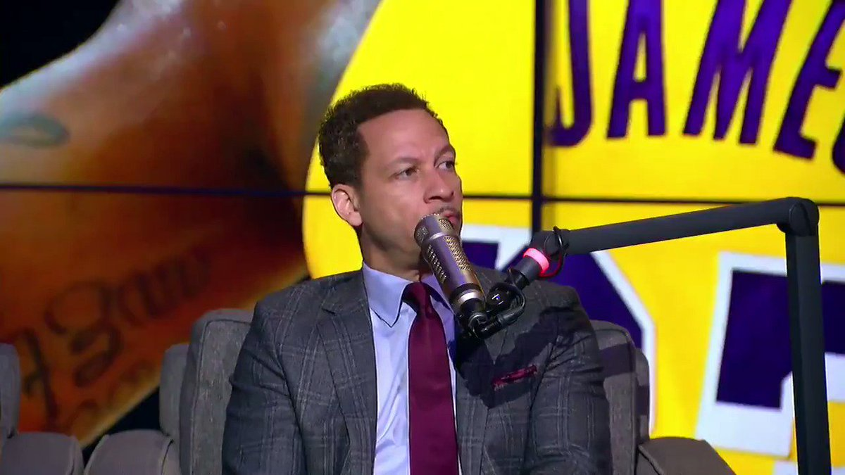 'Lonzo Ball and Josh Hart should be the starting backcourt for the Lakers.' — @Chris_Broussard