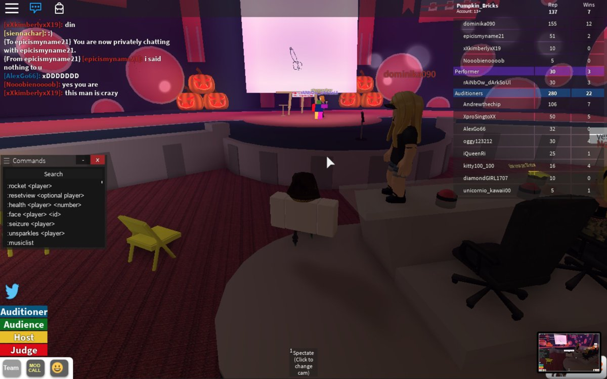 Roblox Got Talent How To Be Server Host   Free Robux Denis