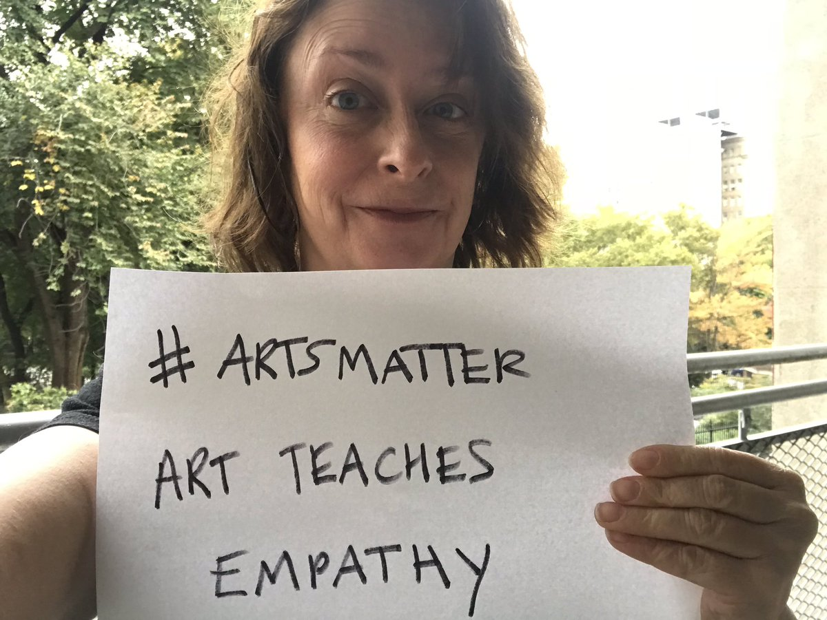 I'm celebrating #ArtsMatterDay with @MASSCreative!