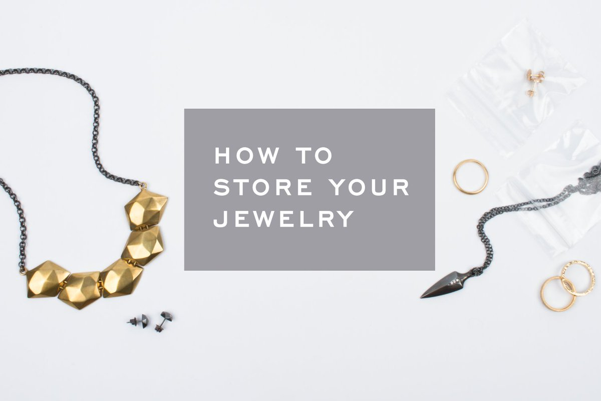 A few tips on how to safely store your jewelry