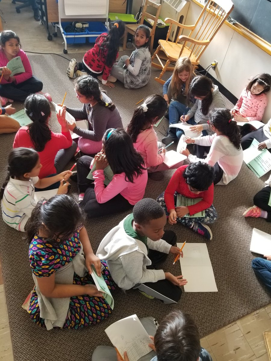 Another great turn out at yesterdays after school #MathClub. It was amazing to see students explain and justify their understanding through a #ThinkPairShare @GlenRavineJrPS @MrAmbi_TDSB @dzervas_tdsb @schan_tdsb @LC3_TDSB