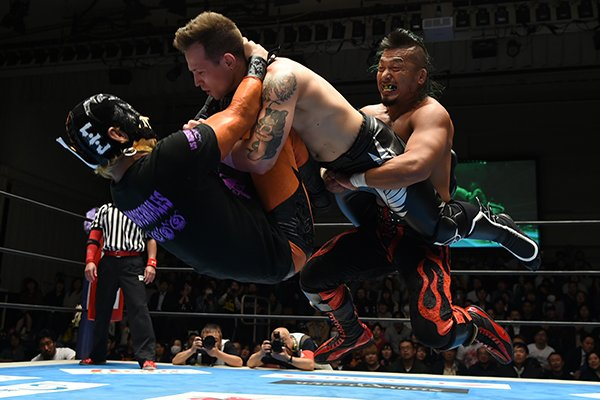 "NJPW:""Super Jr. Tag League 2018"" Días 6 y 7 LIJ a la cabeza 9"