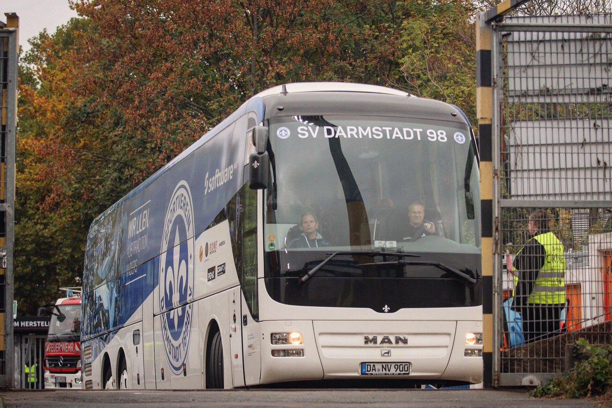 Sv Darmstadt 98 On Twitter Aus Dem Bus Kabine D98sgf