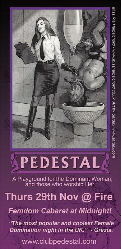 JOANN: Club pedestal domination