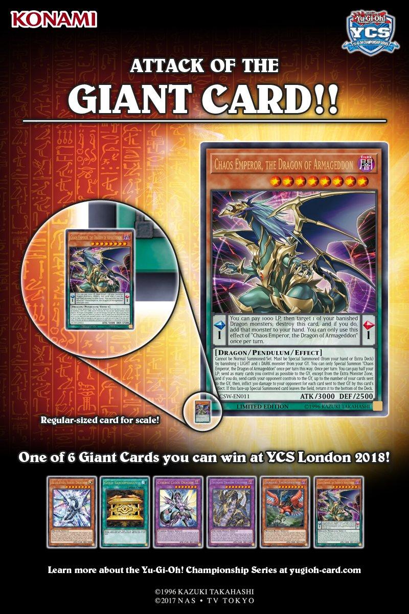 Yu-Gi-Oh! TRADING CARD GAME (KONAMI Europe) on Twitter