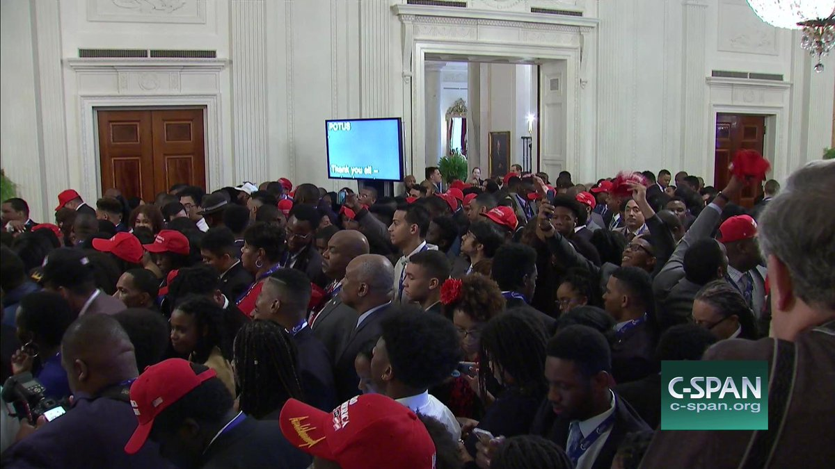 Cspan On Twitter President Trump Remarks At White House Black Leadership Summit Live Shortly On C Span3 Https T Co Qgth4mpxae