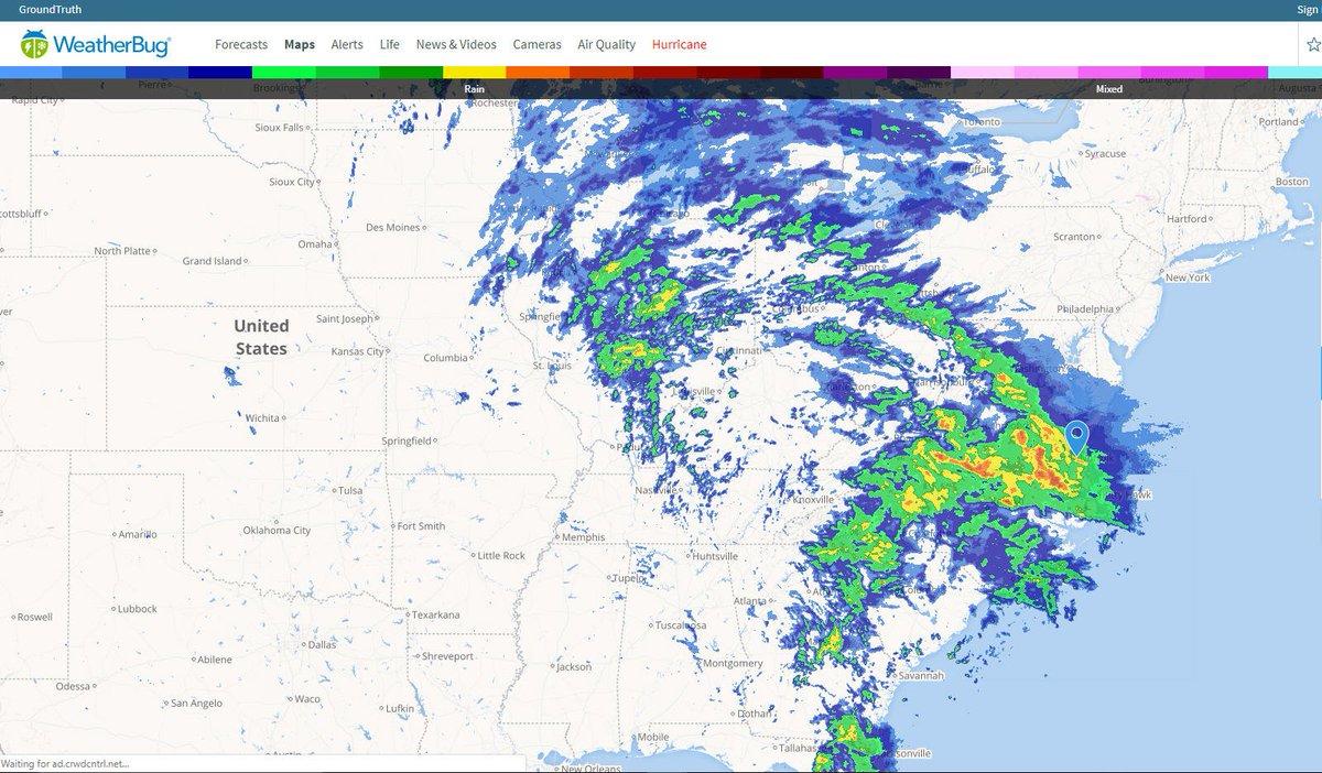 WeatherBug on Twitter: