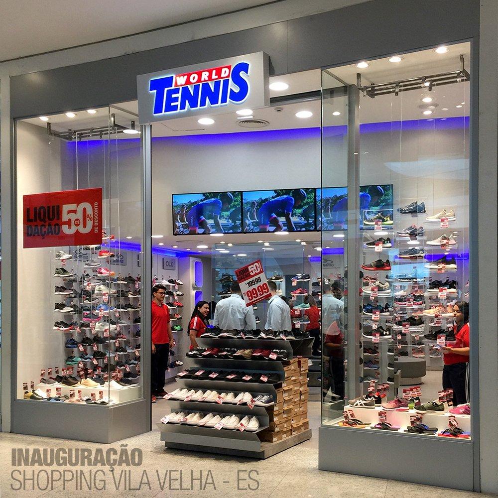 e2157a7b6bb ... A maior rede de lojas especializadas em tênis do Brasil!  http   www.wtennis.com.br  worldtennis  tenis  tênis  franquia  franchising   es  espiritosanto ...