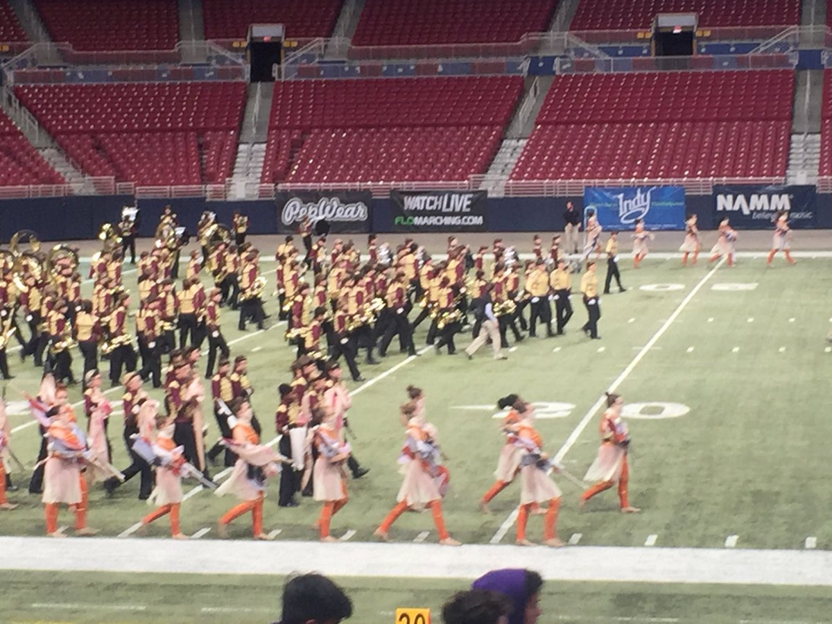 LHS SOSL Marching Band takes the field!