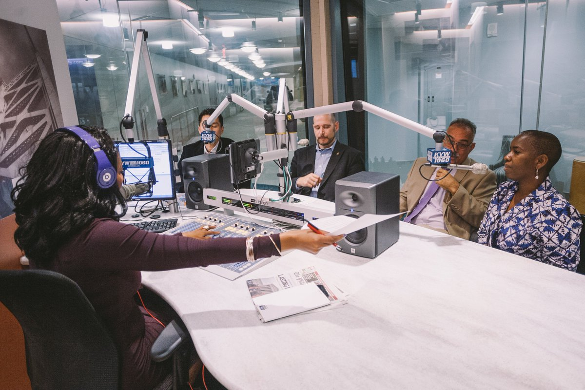 #DACO in the News! Interview at @KYWNewsradio. Our Director of Social Impact, Cherron Perry-Thomas @cherront  speaking on the #DACO2018 Conference and the importance of having communities of color be active participants and stakeholders in the #cannabis industry.  ##cannabisfact <br>http://pic.twitter.com/tBwSR59MQs