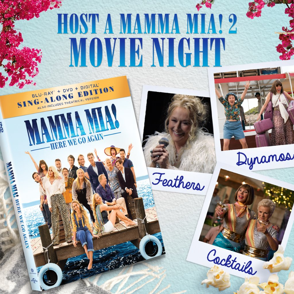 Mamma Mia On Twitter Here We Go Again Grab Your Dynamos Some