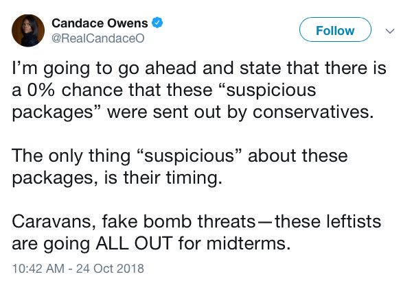 .@RealCandaceO deleted this tweet. Don't let all the conservatives who spread this dreck memory hole what they did.
