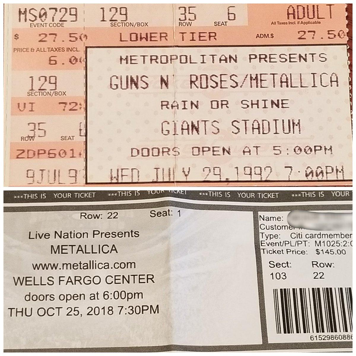 Metallica at Wells Fargo Center in Philadelphia