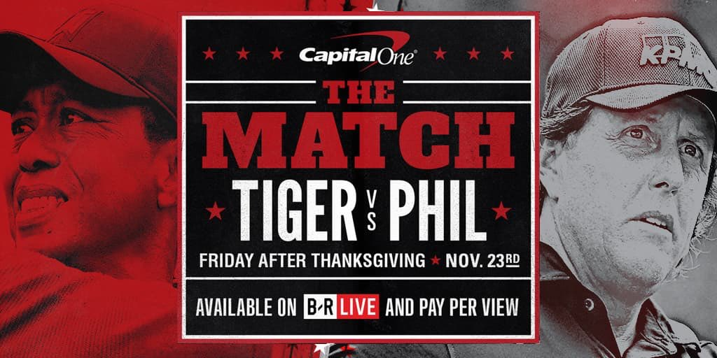 Teeing off Friday, November 23rd at 3 p.m. ET. Available to watch on pay-per-view and through @BRLive