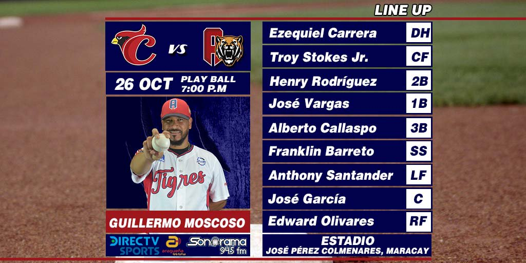Cardenales 4 - 10 Tigres 26/10/18 DqdOR9UWsAILxtW