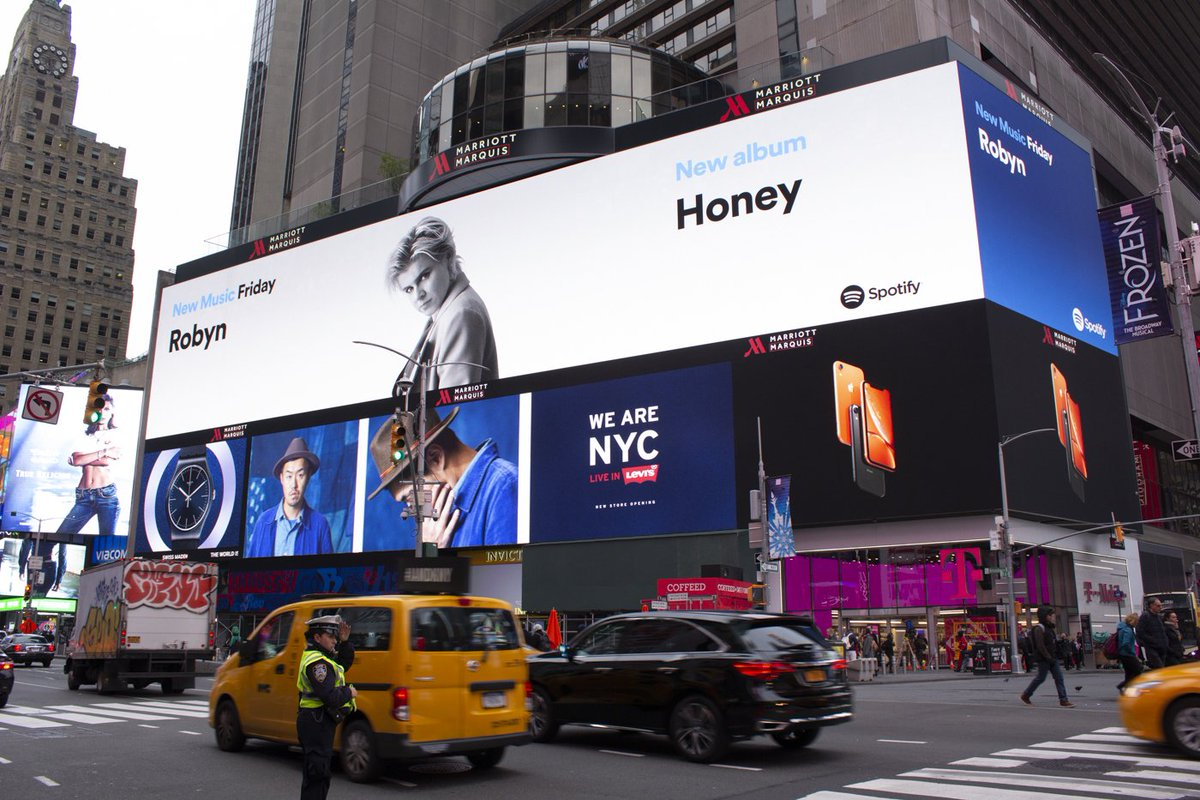 Hi New York 👀 @Spotify