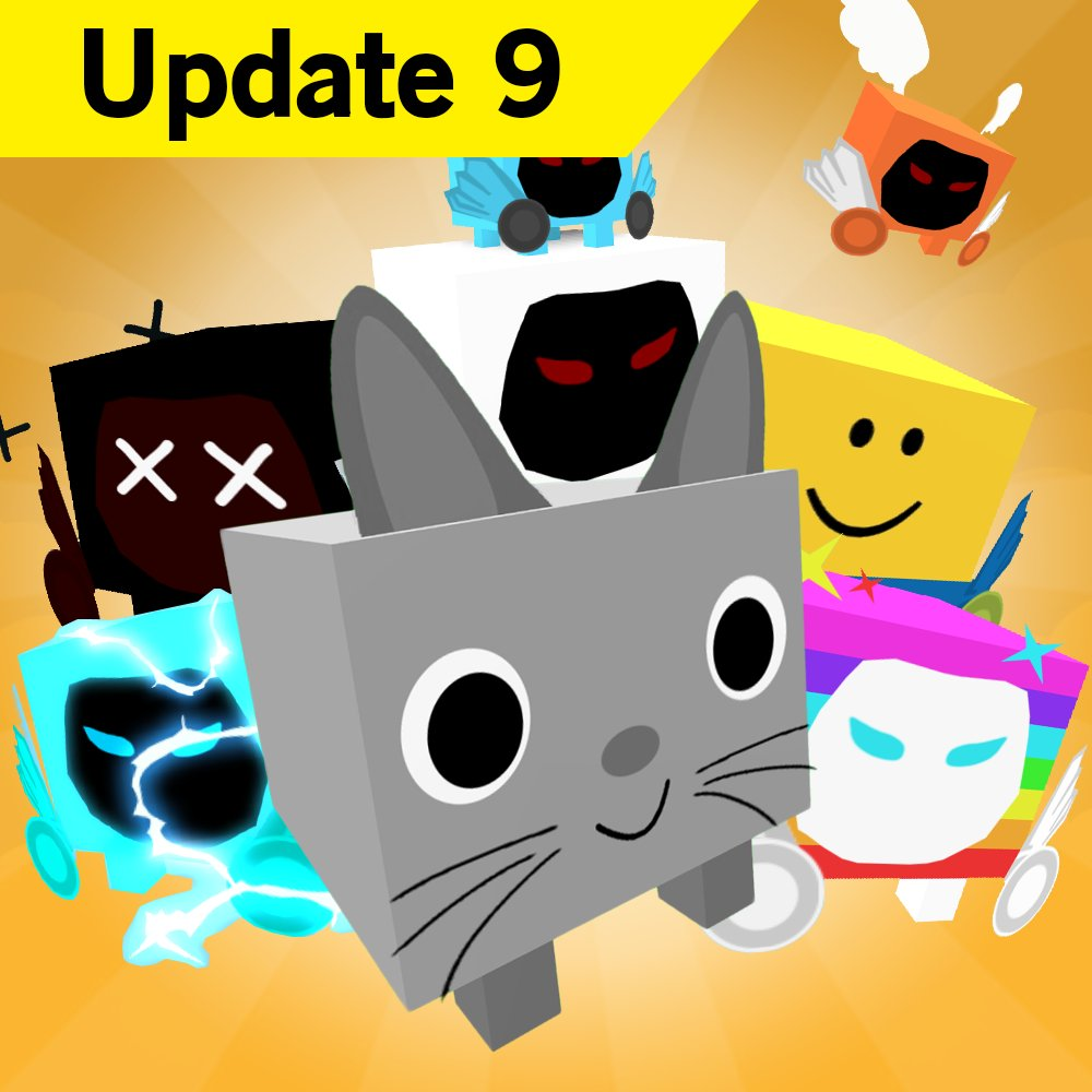 Big Games On Twitter Pet Simulator Update 9 Is Out